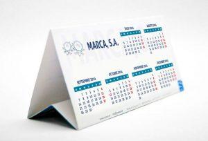 calendario con logo