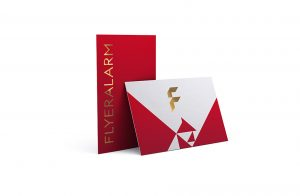 tarjetas letras doradas