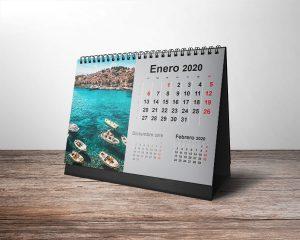 calendario con imagen personalizada