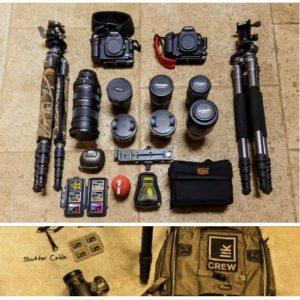 equipo fotografico