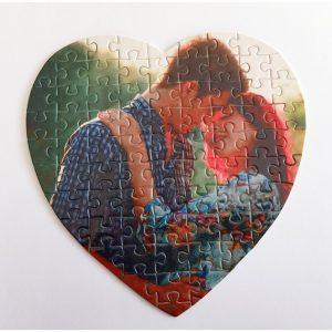 puzzle con forma de corazón